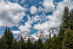 Portrait of the Tetons