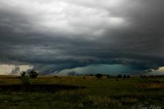 Imposing hail core