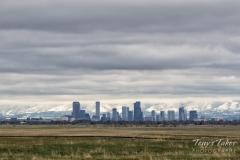 Cloud shrouded Mile High City