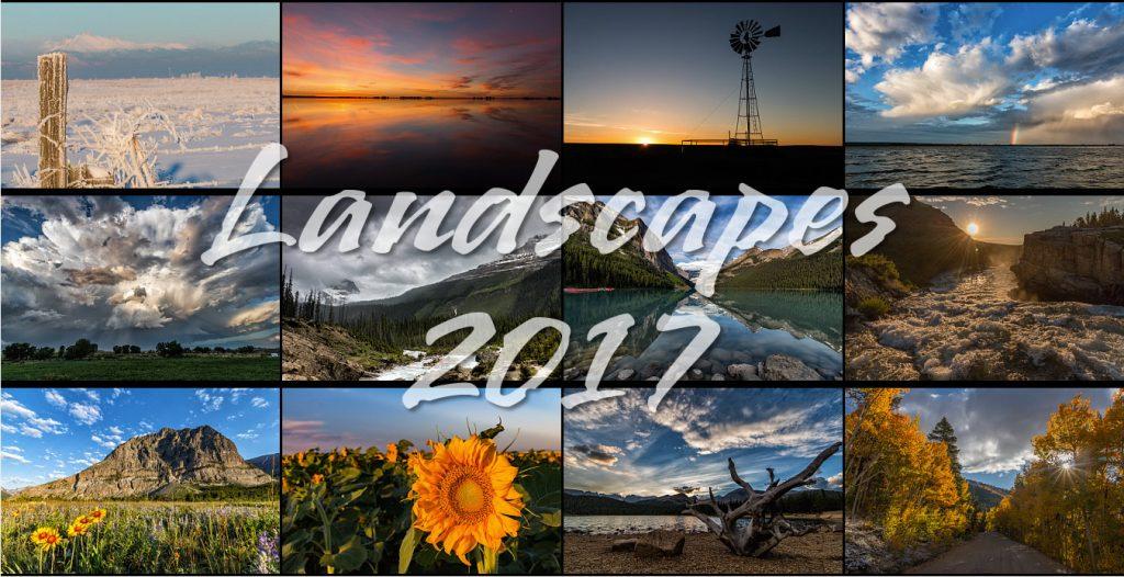 Landscapes 2017 Calendar