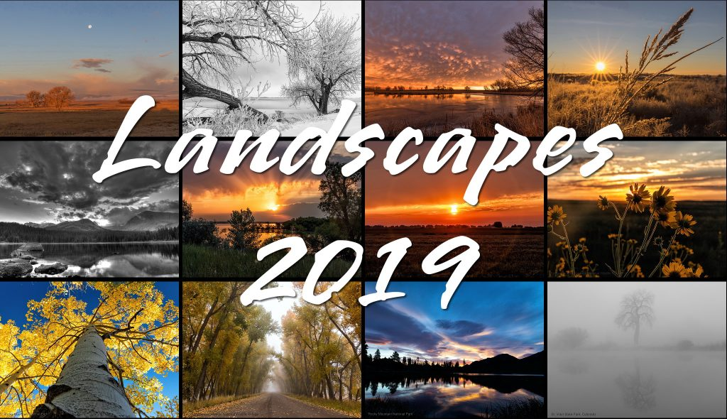 2019 Colorado Landscapes Calendar