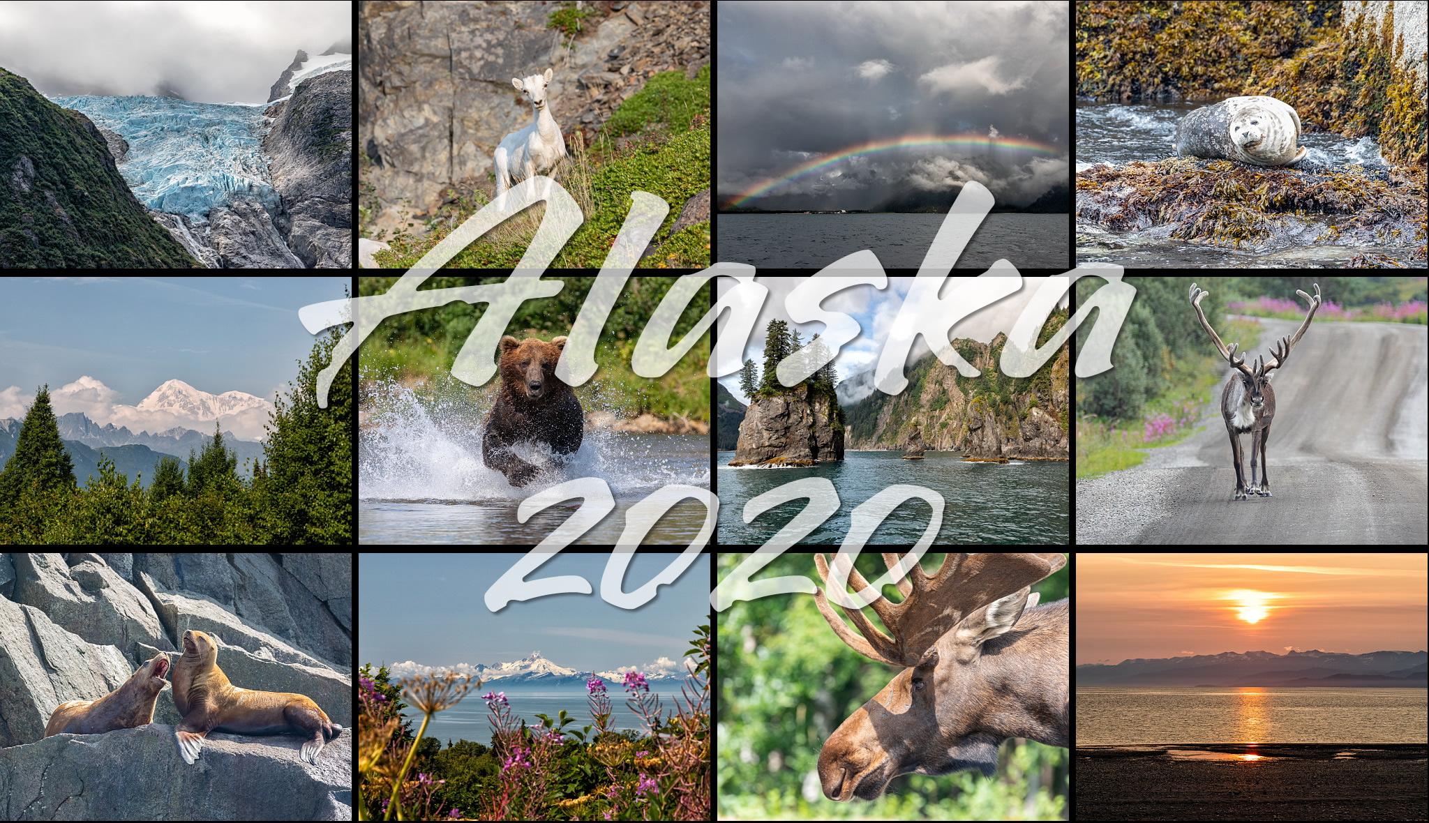 Alaska 2020 Calendar